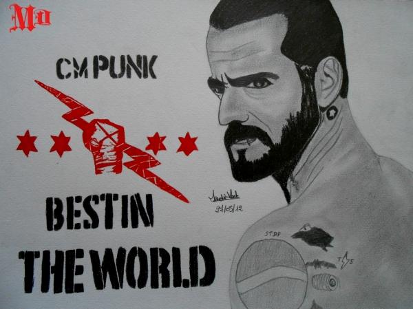 CM Punk par MisterDessinateur45